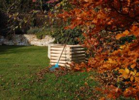 Kompostér – zásobárna humusu a živin